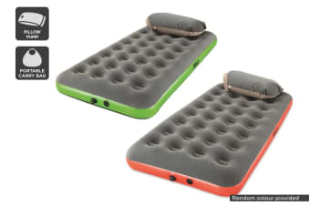 Twin Air Bed with Pillow Pump