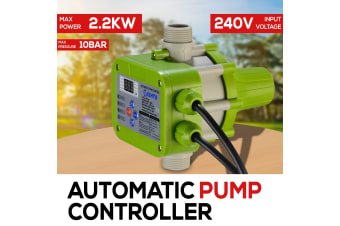 WATER PUMP PRESSURE SWITCH 10 BAR Max. Power 2.2KW AUTOMATIC ELECTRIC CONTROLLER