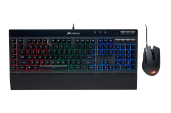 Corsair K55 Plus Harpoon RGB Keyboard and Mouse Combo