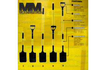 MEAN MOTHER COMBO 4 PIECE RECOVERY SHOVEL TOOL CAMPING OUTDOOR SPADE OFF ROAD