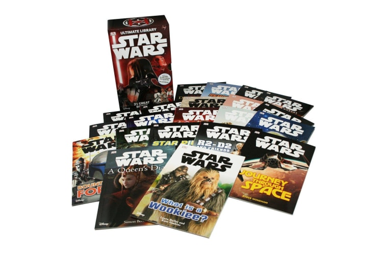 Star Wars: Ultimate Library Box Set with 21 Volume Slipcase