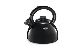Chasseur Domus Enamelled Whistling Kettle 2.5L Black