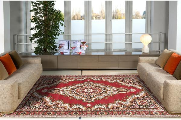 Traditional Medallion Rug Red 230x160cm