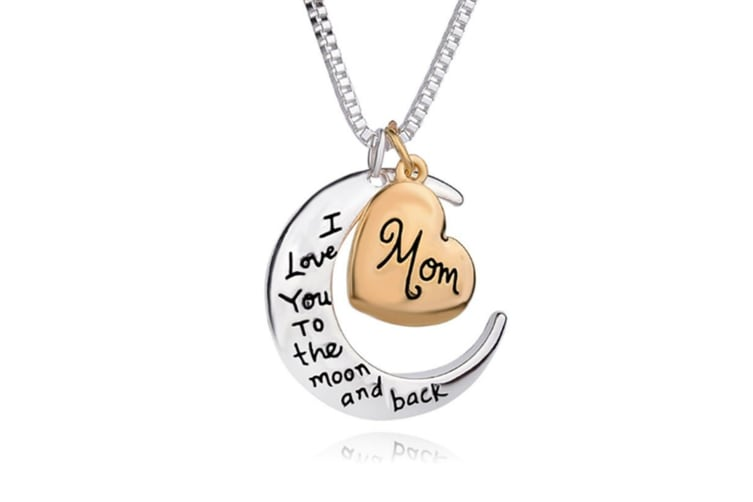 I Love You To The Moon and Back Necklace Fashion Pendants Necklaces Y000199