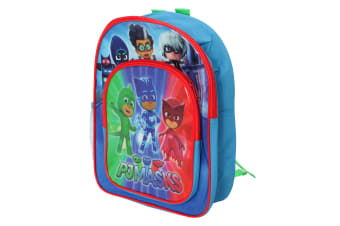 PJ Masks Boys Duo Compartment Rucksack (Blue)