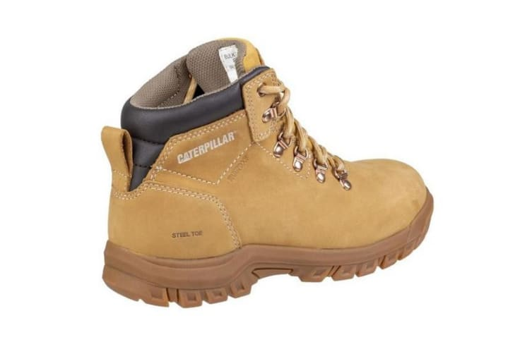Caterpillar Womens/Ladies Mae Lace Up Safety Boot (Honey) (7)