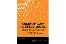 Company Law Perspectives 2e / Understanding Company Law