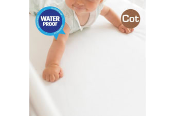 Cot Size Fully Fitted Non Woven Waterproof Mattress Protector