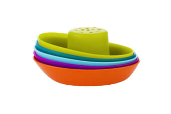 BOON FLEET - Stacking Boat Cups Bath Toy