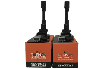 Pack of 2 - SWAN Ignition Coil for Suzuki Baleno, Carry & Grand Vitara