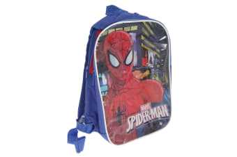 Marvel Childrens/Kids Spider-Man Reversible Backpack (Blue)