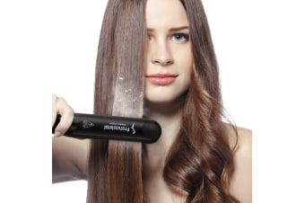 Steam Flat Iron Hair Straightener Professional Salon Ceramic Tourmaline Flat Iron