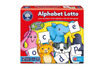Alphabet Lotto Game by Orchard Toys