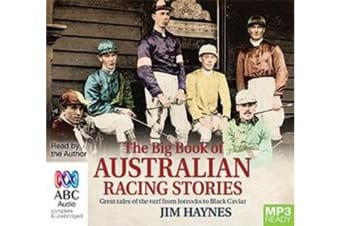 The Big Book Of Australian Racing Stories (MP3)