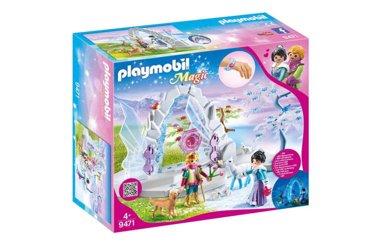 Playmobil Magic Crystal Gate to the Winter World Playset