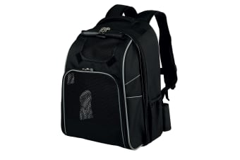 Trixie William Backpack Pet Carrier (Black)