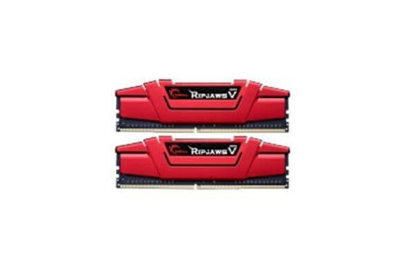 G.SKILL 16GB DUAL CHANNEL KIT (8GB X 2) PC4-24000/DDR4 3000MHZ 1.35V UNBUFFERED NON-ECC PERFORMANCE SERIES - RIPJAWSV RED