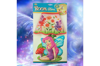 Touch-Activated Fairy Wall Night Light
