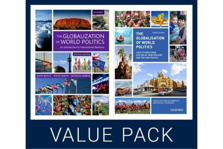 The Globalization of World Politics 7e & ANZ Case Studies Value Pack