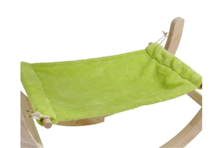 WJS Pet Cat Dog Hammock Soft Bed Animal Hanging Pupply Comforter-GREEN