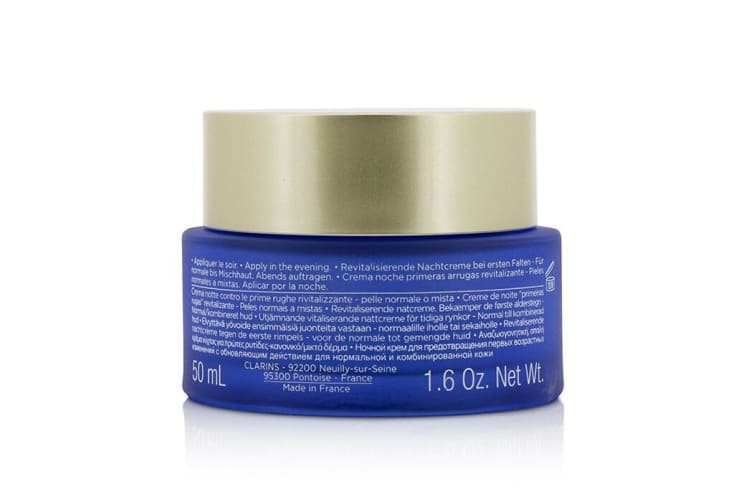 Clarins Multi-Active Night Targets Fine Lines Revitalizing Night Cream - For Normal To Combination Skin 50ml