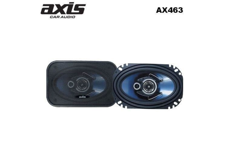 AXIS 4 inch x6 inch 3WAY COAX SPEAKERS