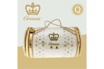 Queen Size Australian Made Luxury Quality CROWN Wool Quilt
