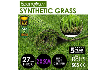 40 SQM Synthetic Artificial Grass Green Turf - 2x20m