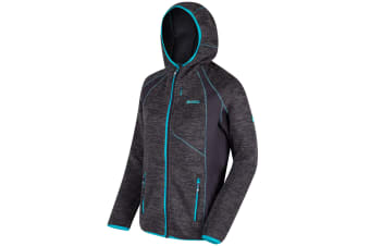 Regatta Great Outdoors Womens/Ladies Willowbrook III Full Zip Fleece Hoodie (Iron/Iron) (16)