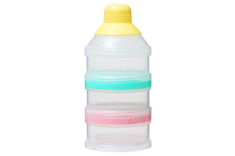 Pigeon 6 Tier Powder Milk/Baby Formula Container/Storage f Bottle/Protein Shaker