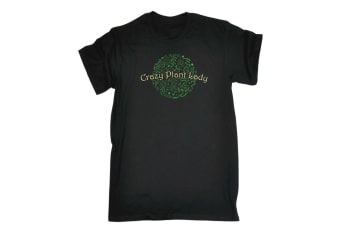 123T Funny Tee - Crazy Plant Lady Mens T-Shirt