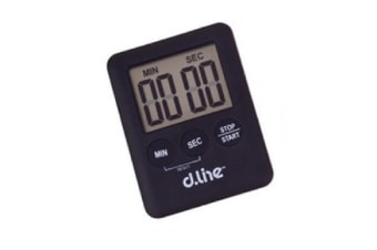 99 Minute Electronic Countdown Timer-black