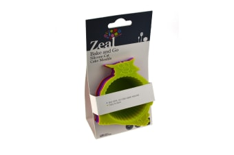 Zeal Silicone Cat Muffin Moulds - Set Of 4