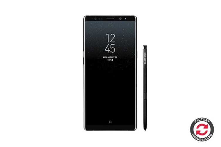 Samsung Galaxy Note8 Refurbished (64GB, Midnight Black) - A Grade