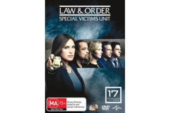 Law and Order Special Victims Unit Season 17 DVD Region 4