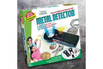 DIY Metal Detector Kit | Small World Science | Ages 8 +