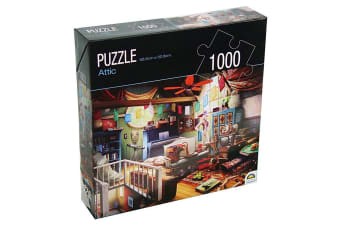 1000pc Crown Huntington Green Series Attic 68.6cm Jigsaw Puzzle Toy 15y+