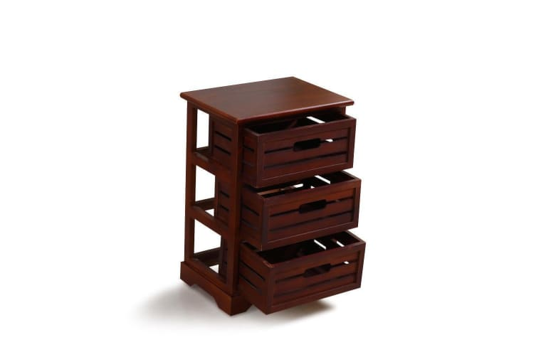 Levede Bedside Table Shabby Chic Drawers Cabinet Nightstand Storage Units Home Bedroom