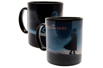 Doctor Who Heat Changing Mug (Multicoloured) (9 x 8 cm)