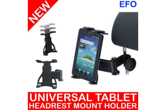 "360° Rotating Universal Headrest Tablet Car Mount Holder For 4.3 - 11.6"" Tablet"