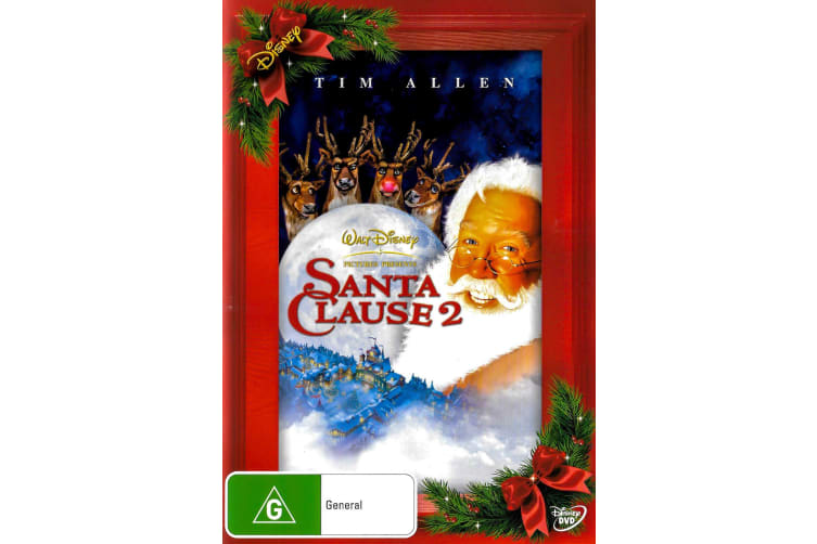 Santa Clause 2 -Comedy Region 4 Rare- Aus Stock DVD Preowned: Excellent Condition
