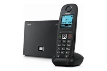 Siemens Gigaset A540IP VoIP and fixed line phone IP DECT Base station and one cordless Phone