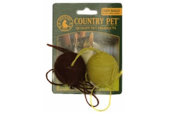 Country Pet Cat Toy (Yarn Ball) (One Size)