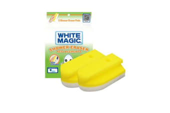 White Magic Shower Eraser Sponge Refill