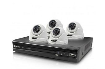 Swann 8 Channel 4MP 2TB NVR with 4 x NHD-819 Dome Cameras (SWNVK-874004D)
