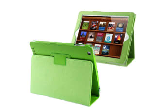 For iPad 2/3/4 Case Modern Lychee Leather High-Quality Shielding Cover Green