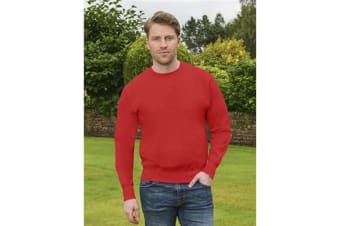 Casual Original Mens Sweatshirt (Red)