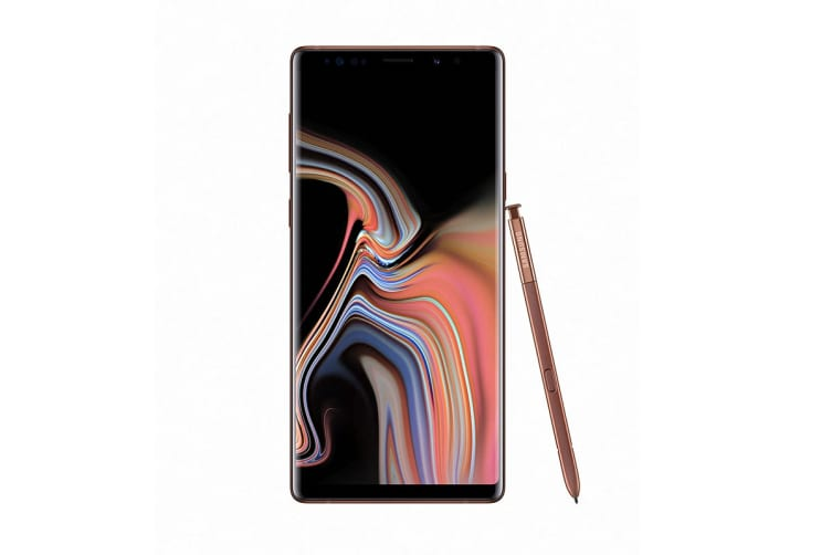 Samsung Galaxy Note9 (512GB, Metallic Copper)