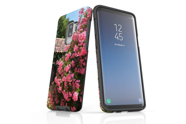 For Samsung Galaxy S9+ Plus Case Armour Cover  Blossoming Bush