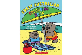 Great Australian Colouring Book